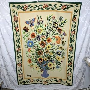 "Odette Caly ""Espoir"" Signed Tapestry"